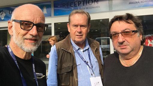 Rolf Leuenberger CHE, Jaroslav Kolcava CZE, Jaroslav Jeřábek CZE