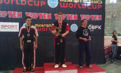 Kickboxen München - Felix Stahl gewinnt Austrian Classics 2012