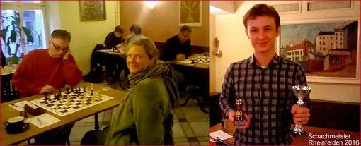Alexandar Jovanivic, 3. Rang, und Andrea Herzog, 6. Rang, mit Laurids Stockert, 1. Rang SMR 2016