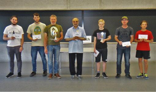 Schach Sieger 2019, Standard-Open Rheinfelden