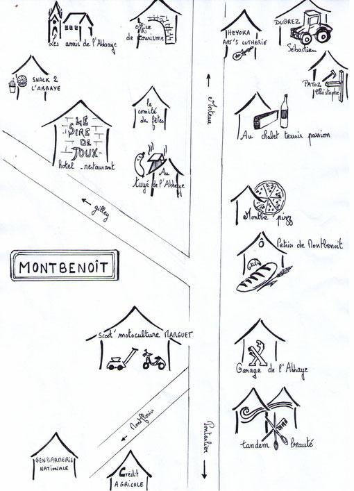commerces à Montbenoit