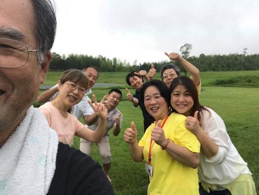 2019年7月20日松阪市総合運動公園笑い(ラフター)ヨガ 子供になって