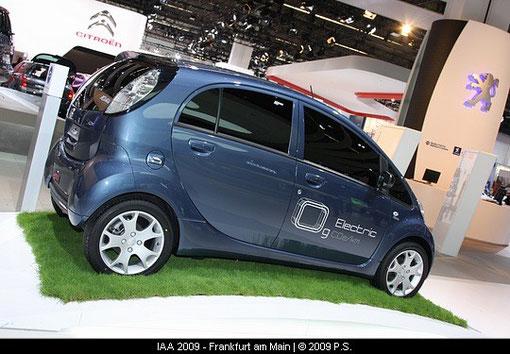 Peugeot iOn, Peugeot Elektroauto