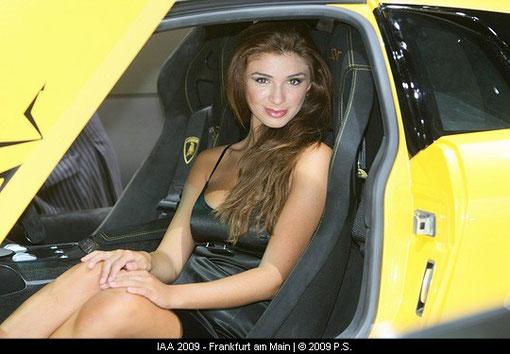 Lamborghini Hostessen Fotos IAA