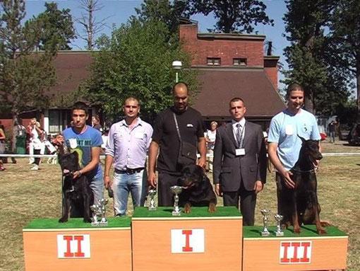 Edy  ganando en Serbia