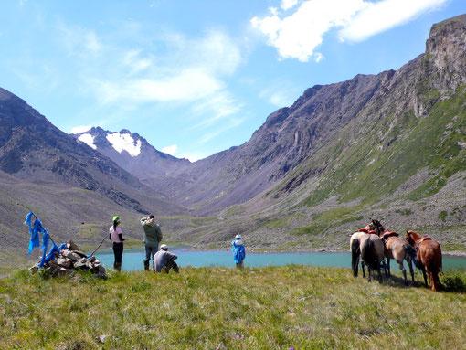 Lac d'altitude à l'Otgontenger