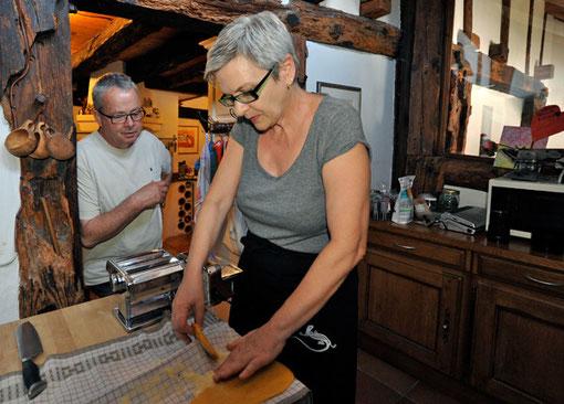 Kochen im alten Bauernhaus, Flaach