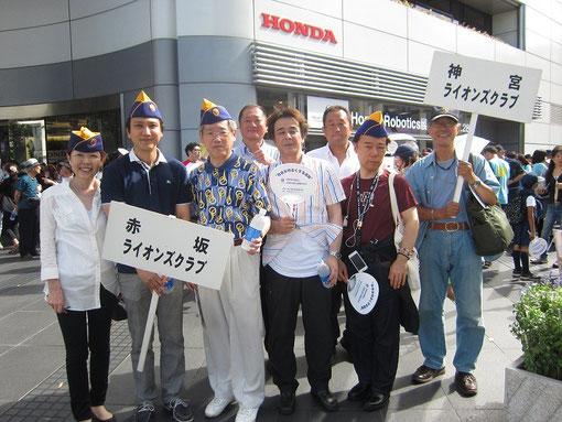 2012.07.15 青山一丁目ホンダビル前
