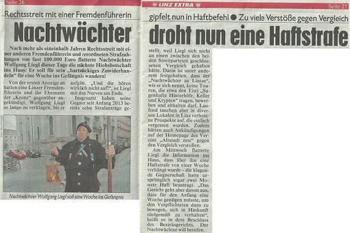 Kronen-Zeitung - Freitag, 22. August 2014