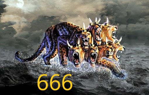 Les 10 cornes de la bête qui monte de la mer représentent 10 rois, c'est-à-dire l'ensemble des dirigeants politiques qui gouverneront le monde au temps de la fin. Le nombre 10 désigne l'ensemble, la totalité, la globalité, la somme, l'intégralité ...