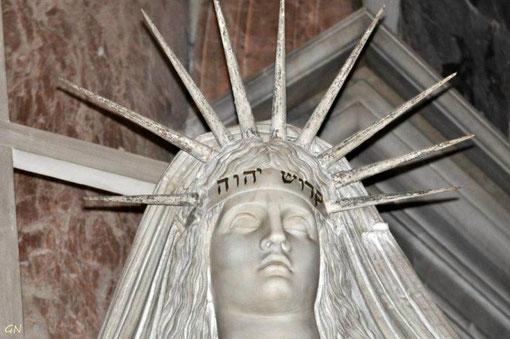 Basilique Saint-Pierre - le monument de tombe Pape Clément XIII - le Tétragramme du Nom de Dieu YHWH
