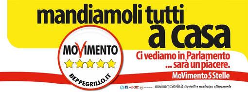 Napolitano Presidente Lista M5S