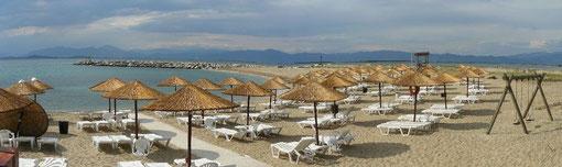 Plage de Fanari, en Grèce