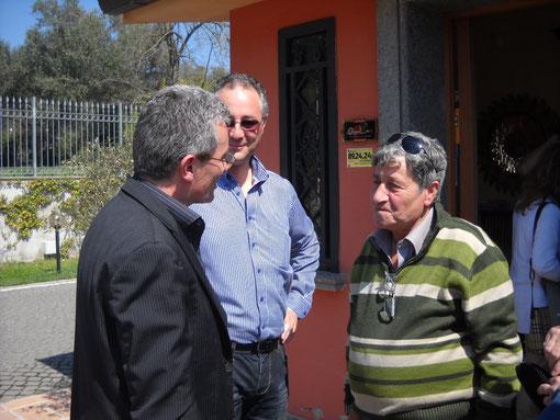 Con Fausto IZ0OZU