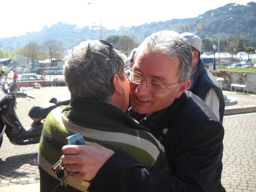 Carlo I0XHK e Giuseppe IW5CGM si incontrano