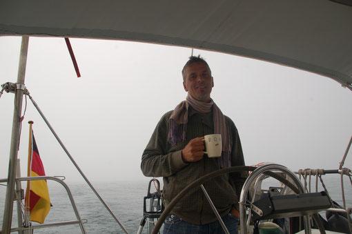 im dichten Nebel kurz vor Agadir / Marokko