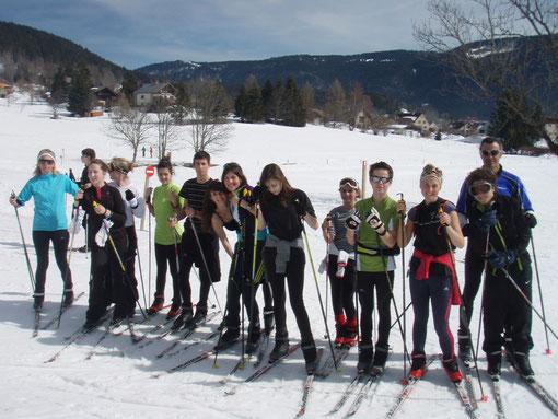 Stage de ski de fond