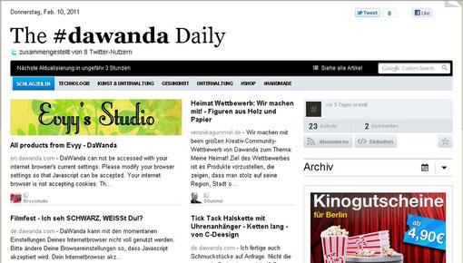Heimat Wettbewerb The #dawanda Daily