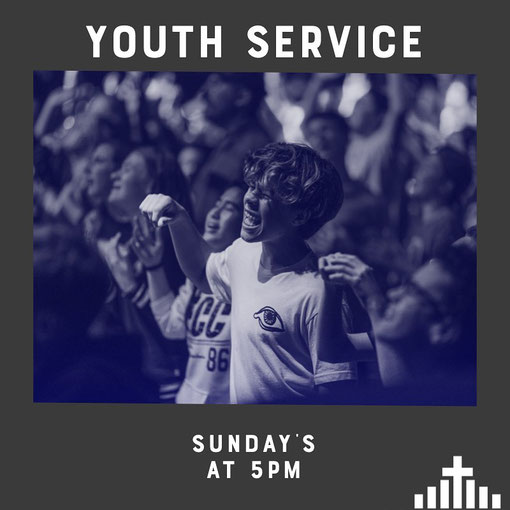 Inviting all youth to come on by and worship with us!