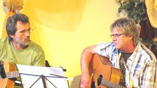 Live Musik akustische Gitarre