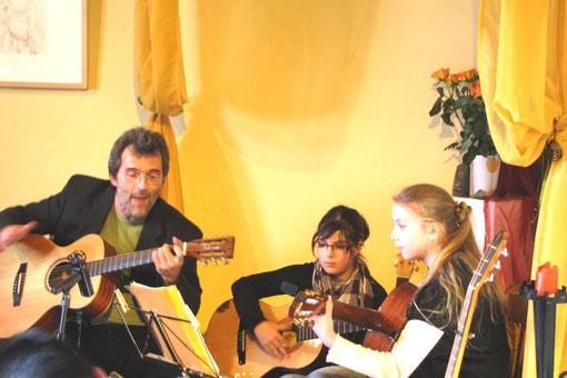 Gitarrenschüler Christian Gömpel Marburg