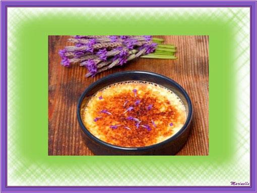 Crème brûlée à la lavande