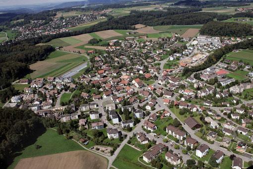 Luftaufnahme Nürensdorf (Archiv): Bild Mano Reichling, Illnau