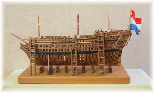 造船所の62砲門艦
