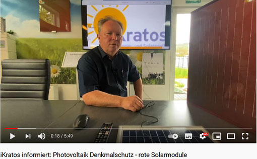 Screenshot Youtube Video Thema Denkmalschutz © iKratos