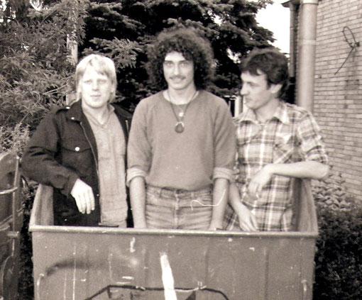 vlnr: Dieter Arnold, Niko Brocke, Peter Maith
