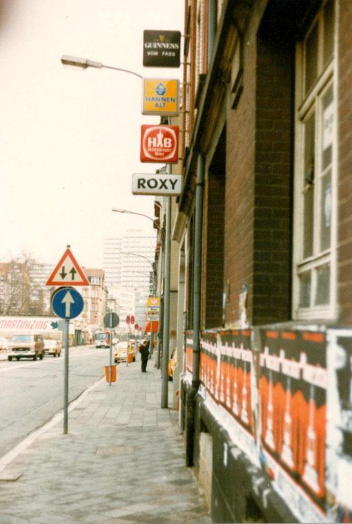Einer der angesagtesten Musik-Clubs Ende der 70er  in der ehemaligen Schlesinger Fabrik  in der Waldstraße 79, Offenbach