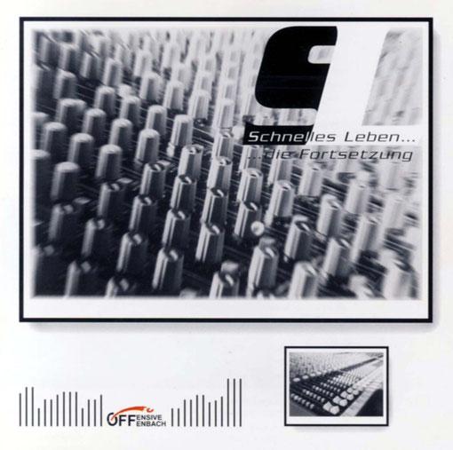 """CD-Cover """"Schnelles Leben ... die Fortsetzung"""""""
