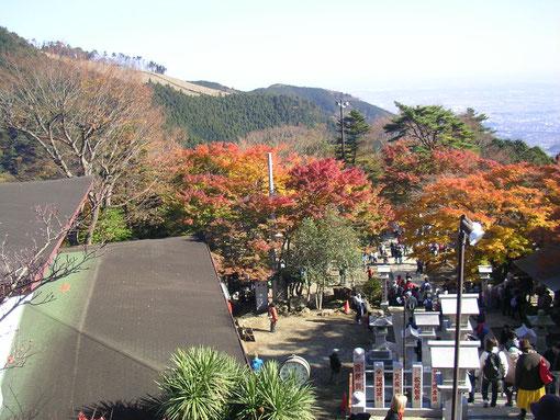 大山阿夫利神社から参道を撮影  続きを読んでね
