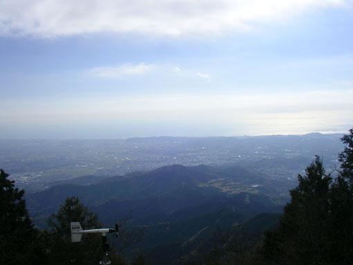 大山頂上より撮影