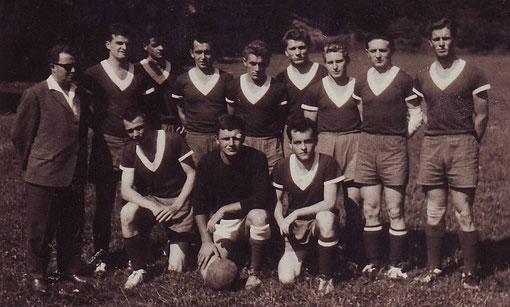 1. Mannschaft Anfang der 60er Jahre