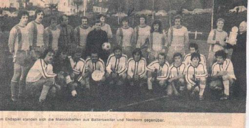 1. Gemeindepokalsieger 1976