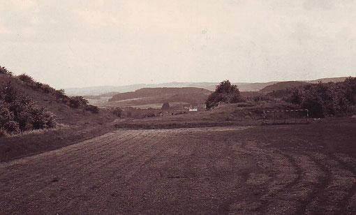 Geschichte: Der frühere Sportplatz am Rothenberg Anfang der 60er Jahre