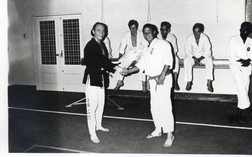 Sensei Robert Zunski 3edan Teakwondo Aruba