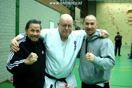 Shihan Jan Norden en Tim