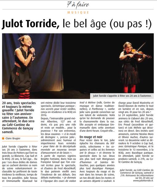 7 à Poitiers, 23 juin 2020