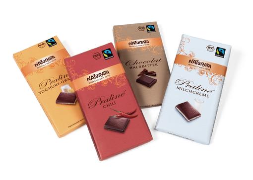 NATURATA - Schokolade - Relaunch - Design - Packaging - DesignKis - 2009 - Verpackung