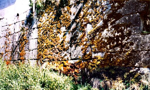 Mur de la scie en 2005