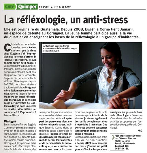 Réflexologie Quimper