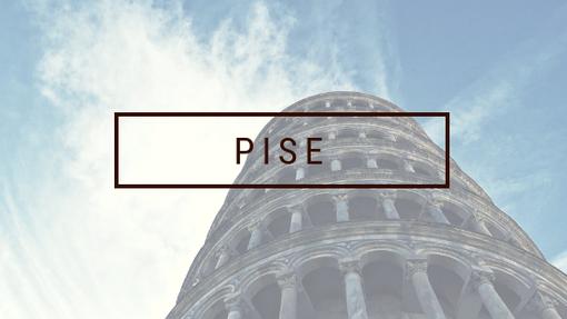 BIGOUSTEPPES ITALIE PISE