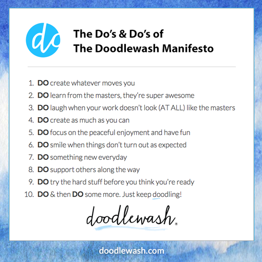 The Doodlewash Manifesto: DO!