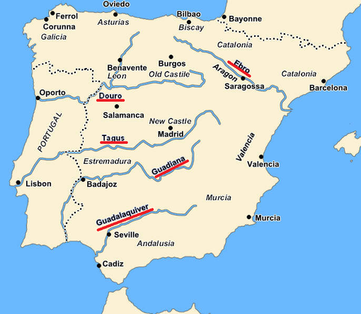Cartina Muta Spagna Da Stampare