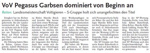 Leine-Zeitung, 23.06.2010