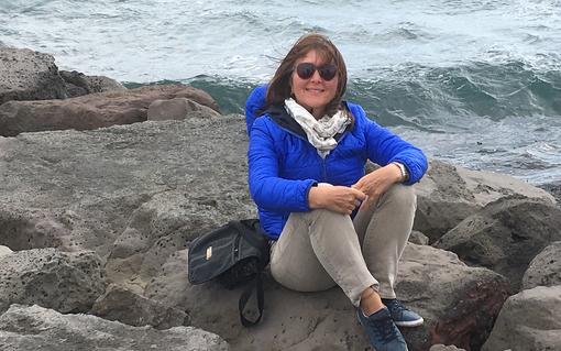 Helga Vogg am Meer