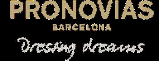 Logo Pronovias Barcelona Dressing dreams