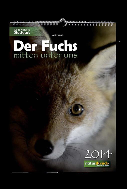 Der Fuchs mitten unter uns / Fuchs-Kalender 2014 von Katrin Sdun